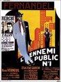 Affiche de L'ennemi public n°1