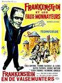 Affiche de Frankenstein et les faux-monnayeurs