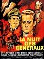 Affiche de La nuit des généraux