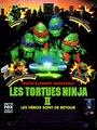 Affiche de Les tortues ninja 2 - Les héros sont de retour