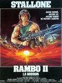 Affiche de Rambo 2: la mission