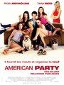 Affiche de American party - Van Wilder relations publiques