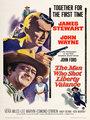 Affiche de The man who shot Liberty Valance