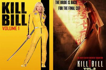 Bannière de la saga Kill Bill