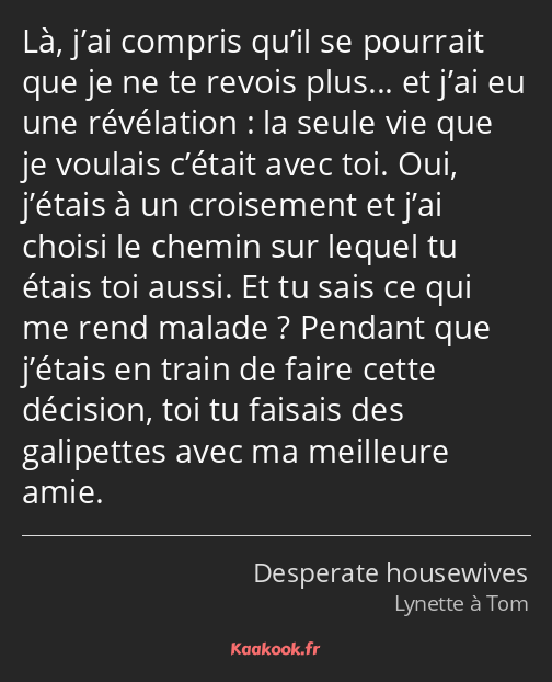 Citation Là J Ai Compris Qu Il Se Pourrait Que Je Ne