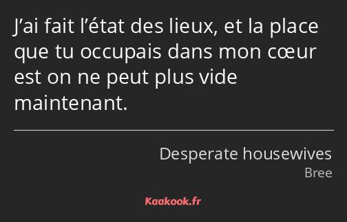 Citation J Ai Fait L état Des Lieux Et La Place Que Tu