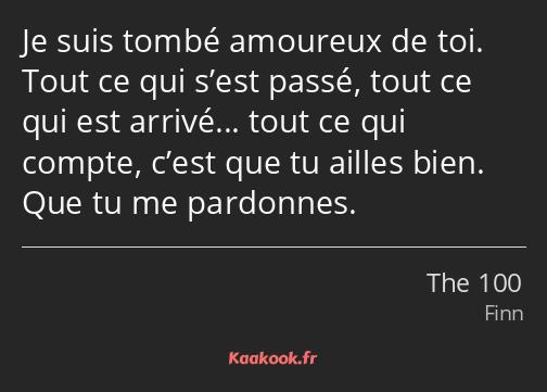 Citation Je Suis Tombé Amoureux De Toi Tout Ce Qui