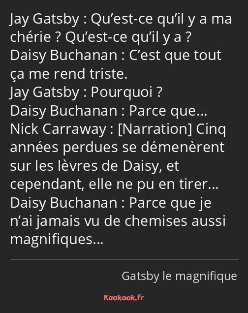 Citation Qu Est Ce Qu Il Y A Ma Chérie Qu Est Ce