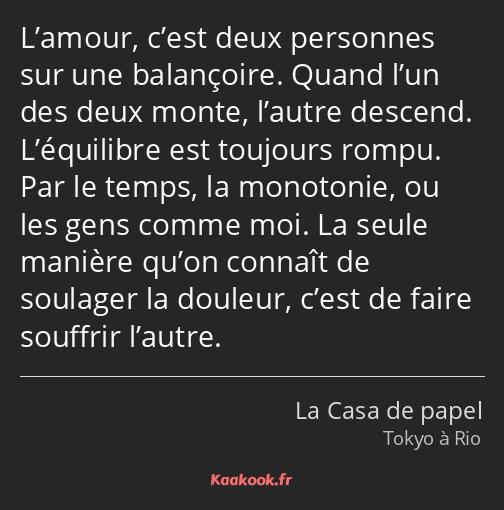 Citation L Amour C Est Deux Personnes Sur Une Kaakook