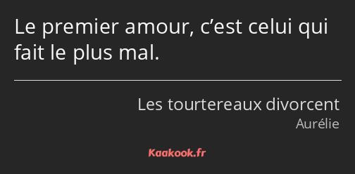 Citation Le Premier Amour C Est Celui Qui Fait Le Plus Kaakook