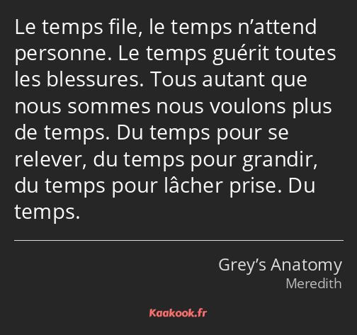 Citation Le Temps File Le Temps N Attend Personne Le