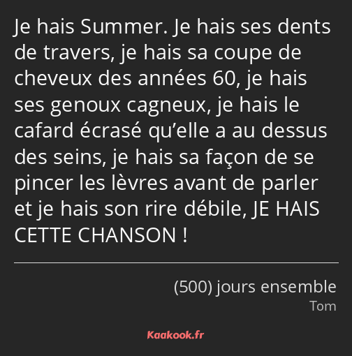 citation film 500 jours ensemble
